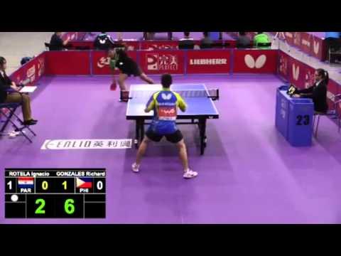 2016 World Championships Highlights:  ROTELA Ignacio v GONZALES Richard