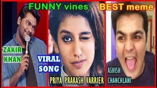 PRIYA PRAKASH VARRIER - THE VIRAL VIDEO GIRL | VIRAL VIDEO OF PRIYA VARRIER | Viral Song | AMDAVADI