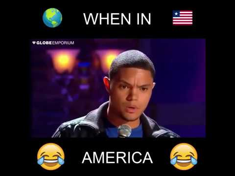 Download Comedian Trevor Noah decodes American English