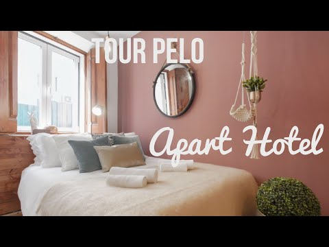 TOUR PELO APART HOTEL EM LISBOA 🇵🇹 Sweet Inn