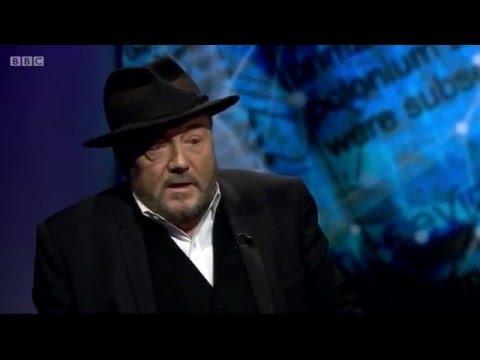 George Galloway on the BBC on the poisoning of Alexander Litvinenko