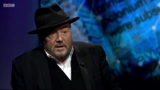 George Galloway on the BBC on the poisoning of Alexander Litvinenko