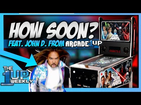 The 1up Weekly - John D. from Arcade1Up Live October 18th! from The1upWeekly