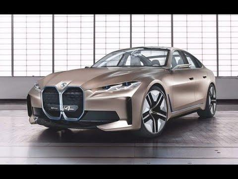 The BMW Concept i4  A mirror into the future