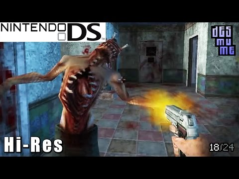 Dementium: The Ward - Nintendo DS Gameplay High Resolution (DeSmuME)