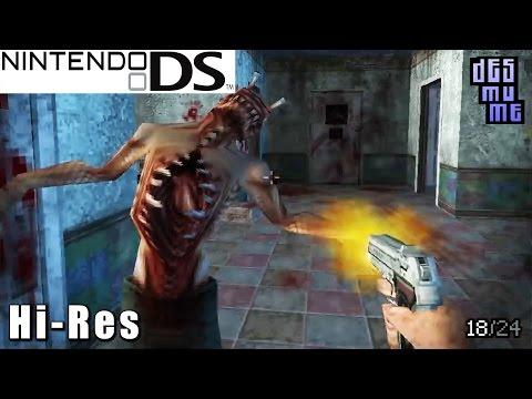 Dementium: The Ward - Nintendo DS Gameplay High Resolution (DeSmuME)