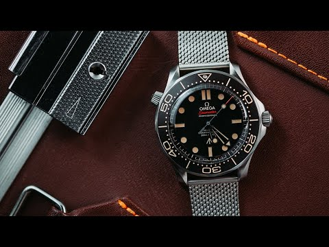 Omega Seamaster Diver 007 Edition   No Time To Die James Bond Watch Review