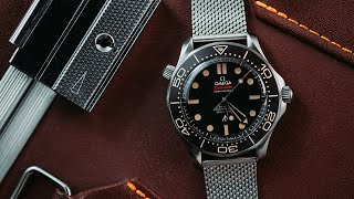 Omega Seamaster Diver 007 Edition | No Time To Die James Bond Watch Review