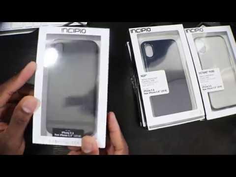 IPhone XS | INcipio Case Suite Unboxing & First Look