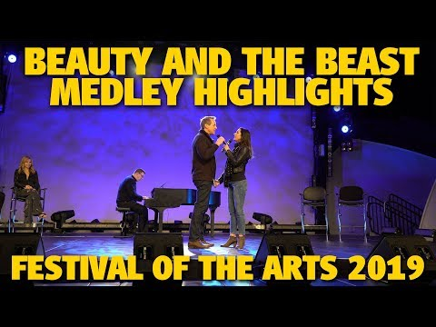 Beauty and the Beast Medley Highlights   Festival of the Arts 2019