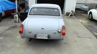 MG Midget w/ Chambered muffler & resonator