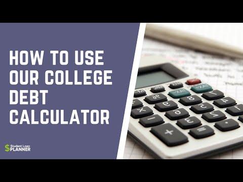 Our Student Loan Calculator - Student Loan Planner - college loan interest calculator