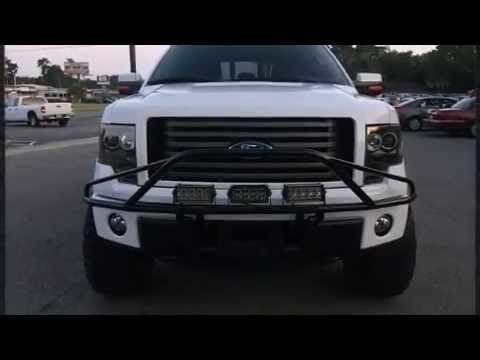 2012 ford f 150 lifted supercrew truck for sale in pensacola youtube. Black Bedroom Furniture Sets. Home Design Ideas