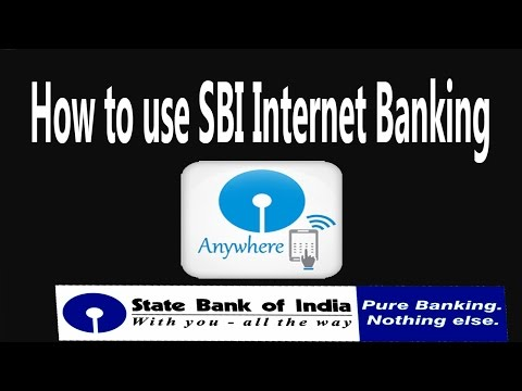 How to use SBI Internet Banking in  Mobile I State bank Anywhere.