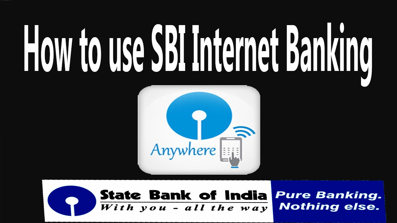 how to apply internet banking sbi
