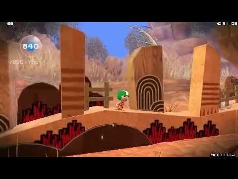 Little Big Planet PSP Gameplay