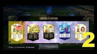 FIFA 17 FUT DRAFT 3 Ep  2 WHAT SPONGEBOB IN FIFA?????
