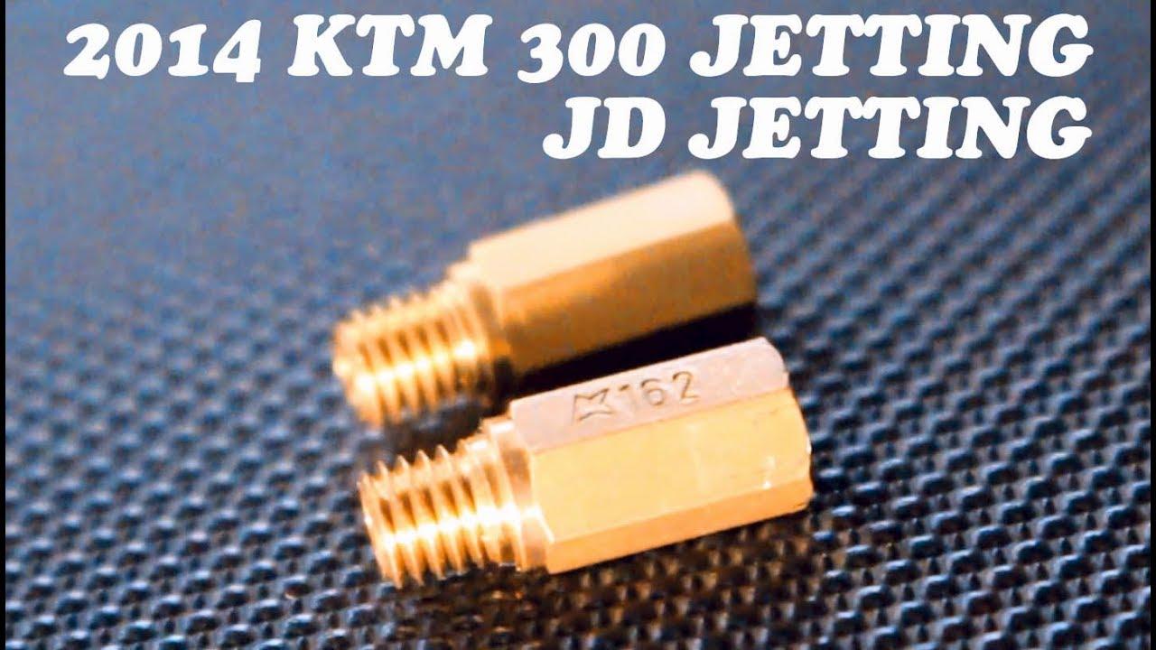 JETTING KTM 300 XC
