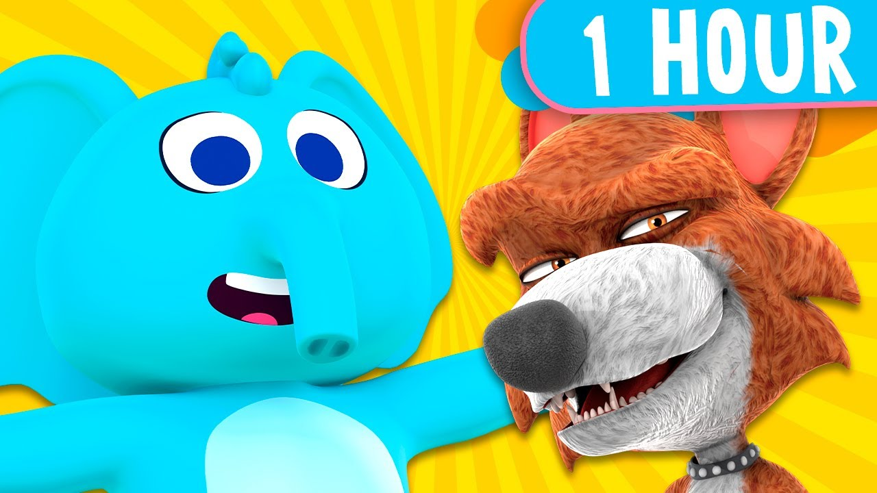 1 HOUR! Zenon The Farmer and Zoo Songs, The Best of The Best! - Kids Songs and Nursery Rhymes