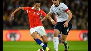 England Vs Chile 0-2, Official Goals And Highlights