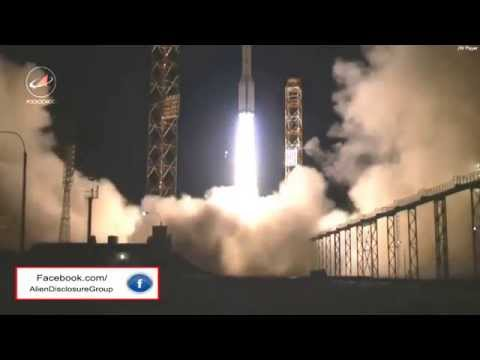 UFO Takes Down Russian Proton-M Rocket? 2014 HD Available
