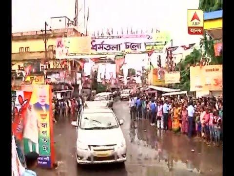 PM Narendra Modi comes at the Medinipur rally