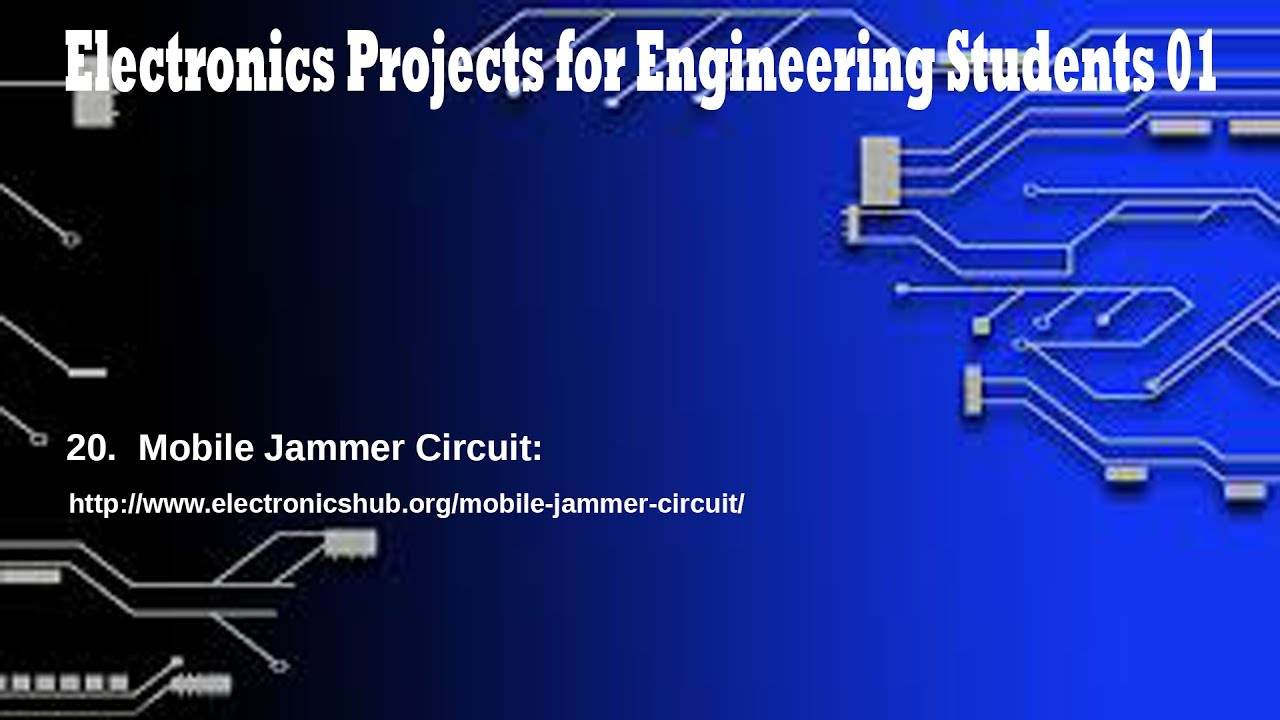 Electronics Projects For Engineering Students Part 01 Youtube Basic Integer Calculator At89c51 Premium