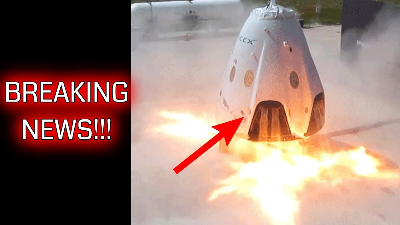 spacex dragon explosion - 1280×720