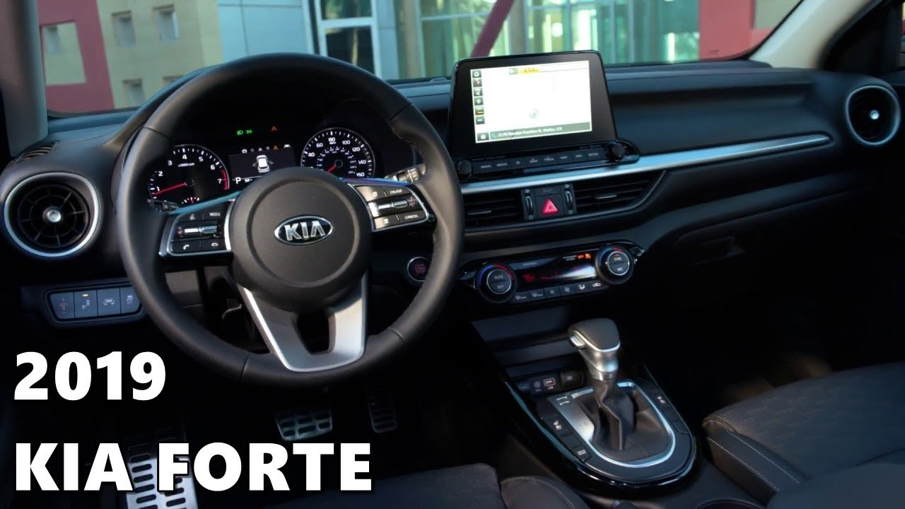 2019 kia forte exterior & interior - youtube