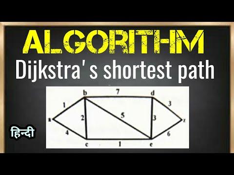 Dijkstra Algorithm Example 2   Shortest Path   Prof. Jayesh Umre