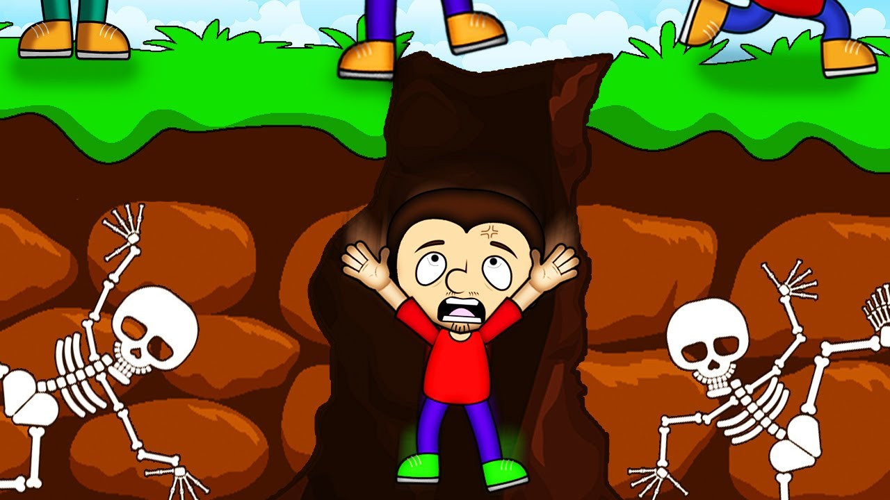 How to survive in cave. Tony was trapped in underground cave. Part 2