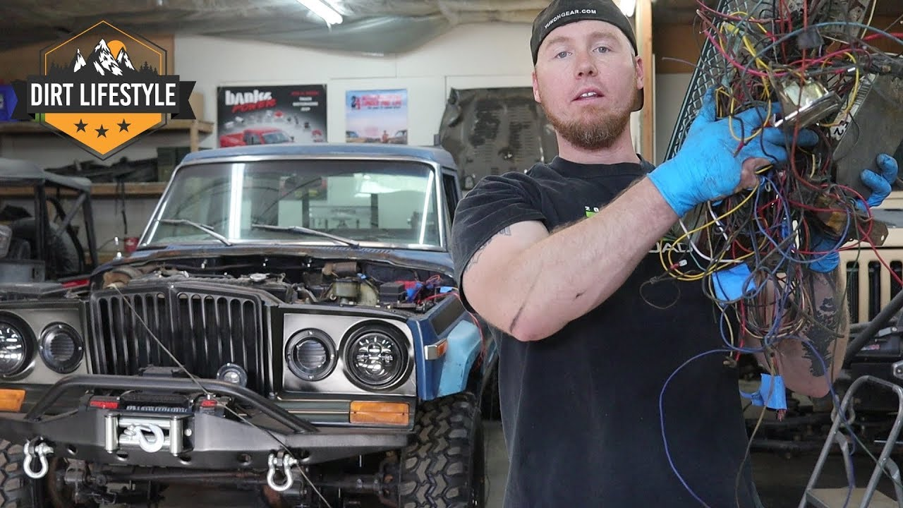 hight resolution of engine swap wiring beginners guide low buck diesel truck episode 13