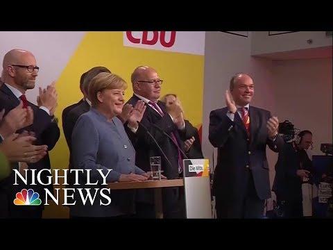 German Elections: Merkel Wins Fourth Term As Far-Right Enters Parliament | NBC Nightly News