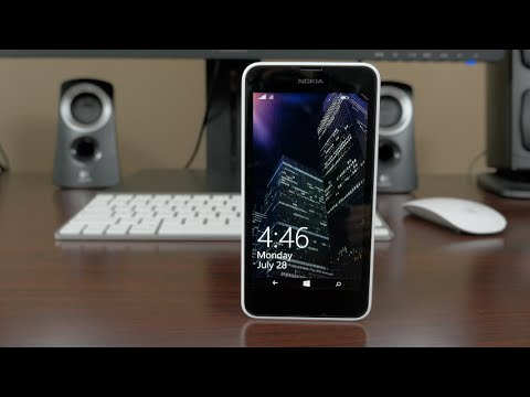 Nokia Lumia 635 Review (4K)