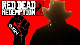Black Cowboy Lives Matter in Red Dead Redemption 2