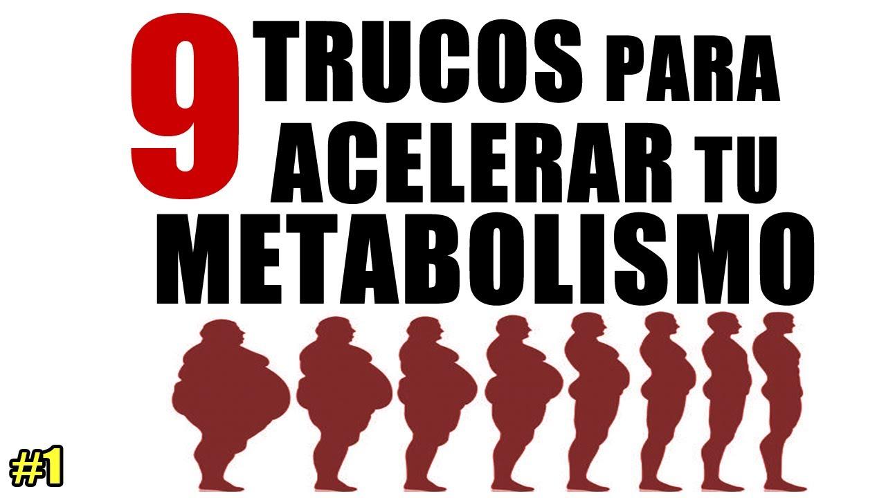 Para aumentar el metabolismo