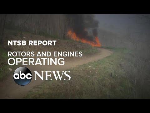 NTSB Report Released In Kobe Bryant Crash L ABC News