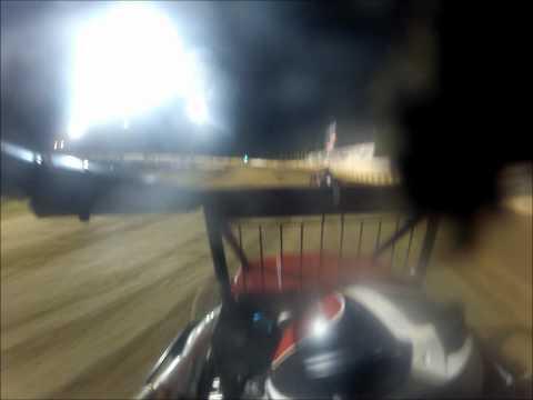 Tyler Thomas Sun Prairie POWRi/Badger Midget In-Car