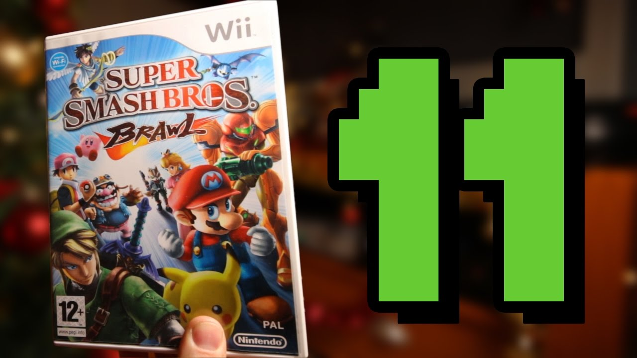 12 Games of Christmas 3: Episode 11 | SUPER SMASH BROS. BRAWL - YouTube
