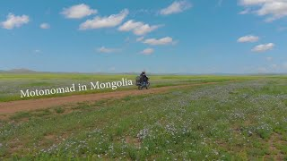 MotoNomad in Mongolia with Mavic Air
