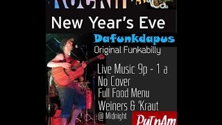 Dafunkdapus at Putnam Tavern, New Year's Eve 2015