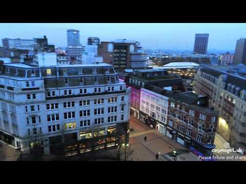Amazing Aerial/Cinematic view of Birmingham's Victoria Square (ft. cosmo...