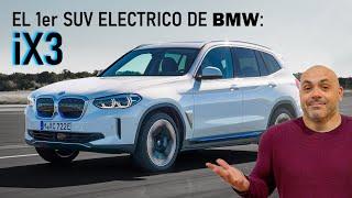 MADRID-BARCELONA EN EL PRIMER SUV ELÉCTRICO DE BMW, EL iX3: PRUEBA/TEST con consumos y datos