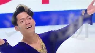 フィギュア全日本選手権 男子SP 宇野昌磨と高橋大輔の全力での滑り(み...