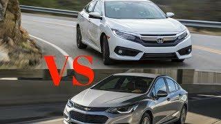 WOW...!!! 2018 Chevrolet Cruze vs. 2018 Honda Civic: Head to Head