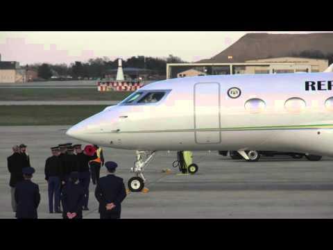 Joint Base Andrews Leader Arrivals: Gabon