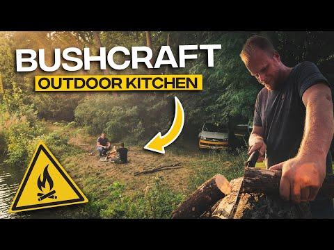 Bushcraft Burger Mit Petromax Feuerschale   Outdoor Kitchen Folge 1