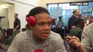 Chase Young: Ohio State defensive end post game press conference Oregon State