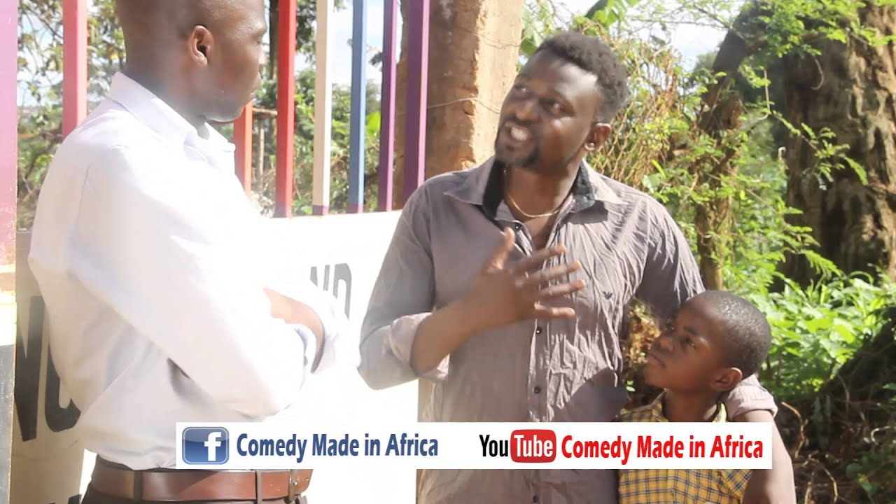 Pay back time. Comedy made in Africa