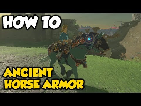 How To Get Ancient Horse Armor | Legend Of Zelda Breath Of The Wild (DLC PACK 2)